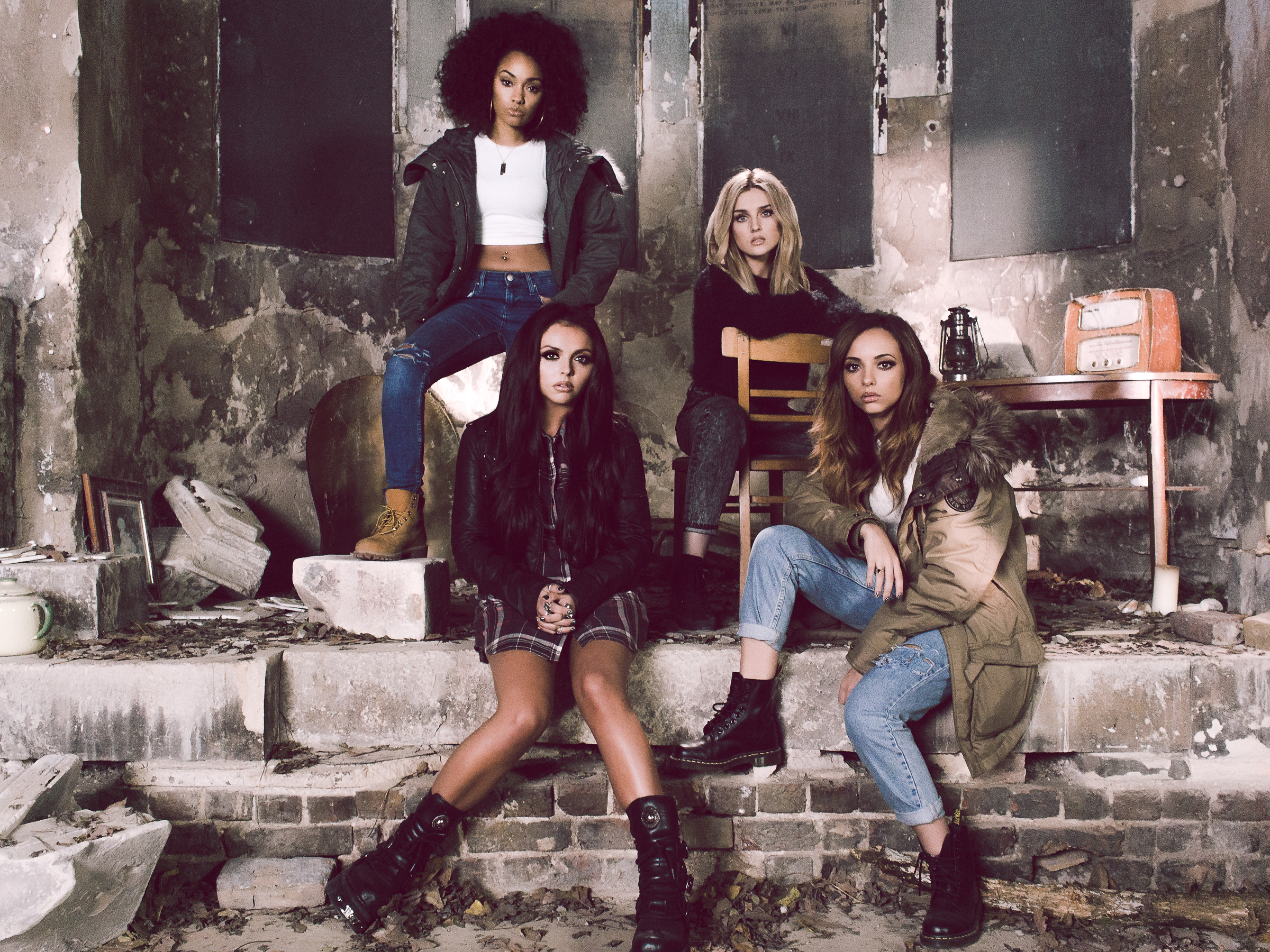 Little Mix Little Me Photoshoot Videoshoot Promo Sony Music SyCo Jay McLaughlin