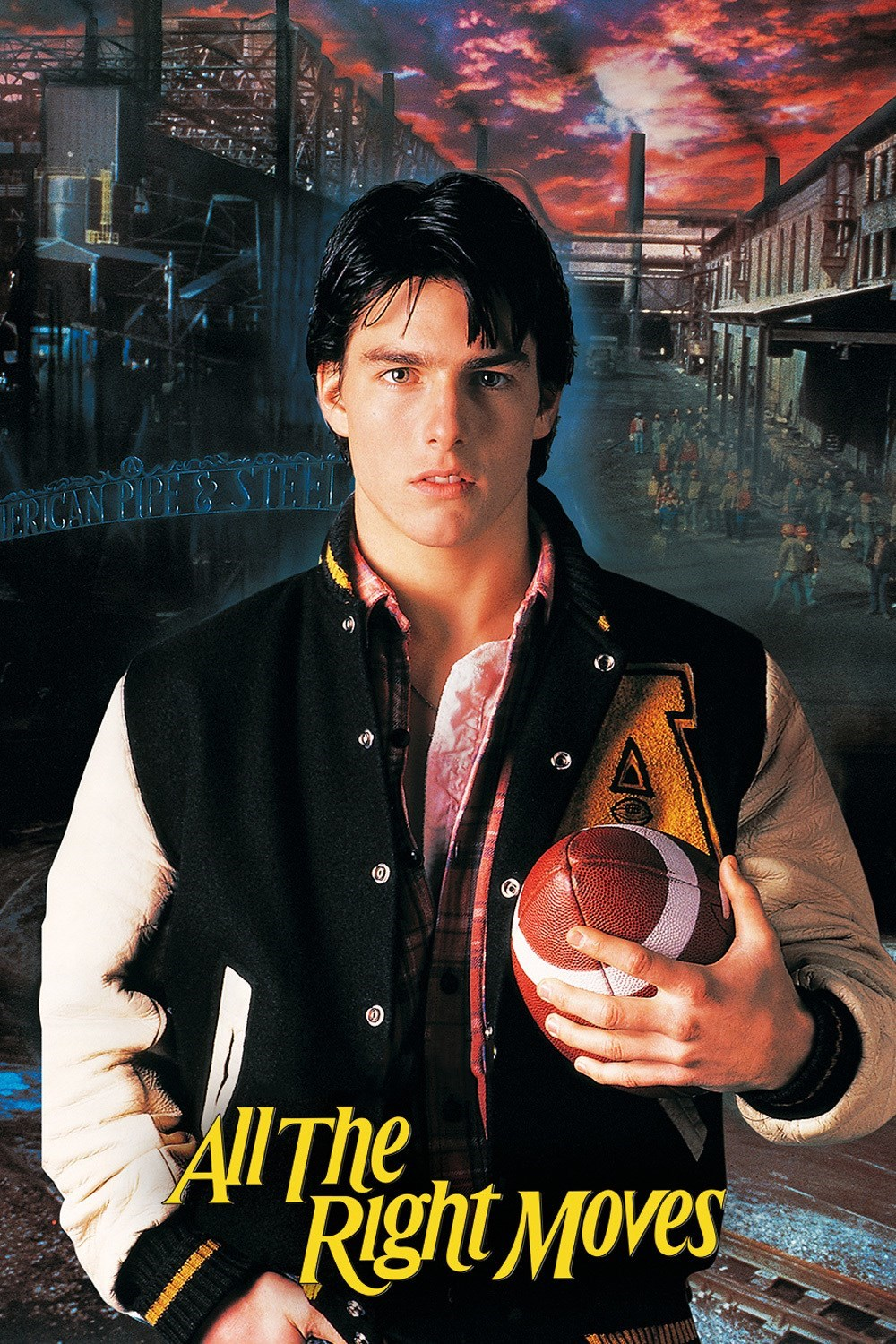 All the Right Moves Review 1983 Tom Cruise
