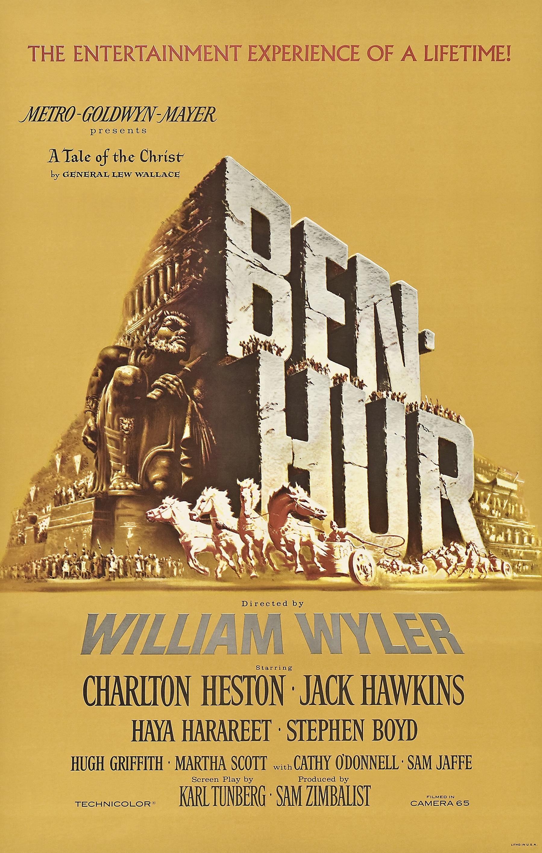 Ben Hur 1959 Movie Poster