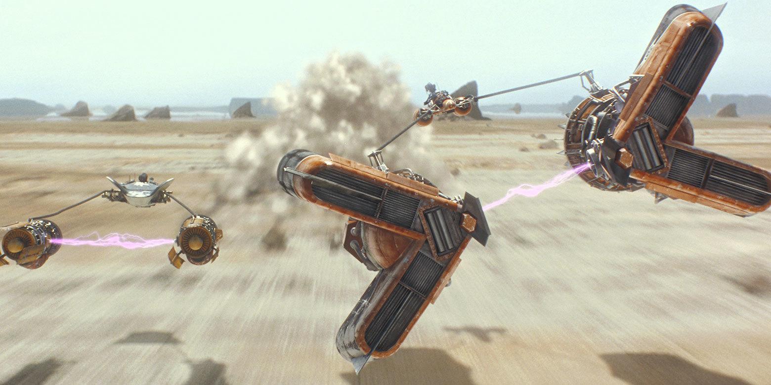 Star Wars Episode 1 The Phantom Menace Podrace Ben Hur Chariot Race