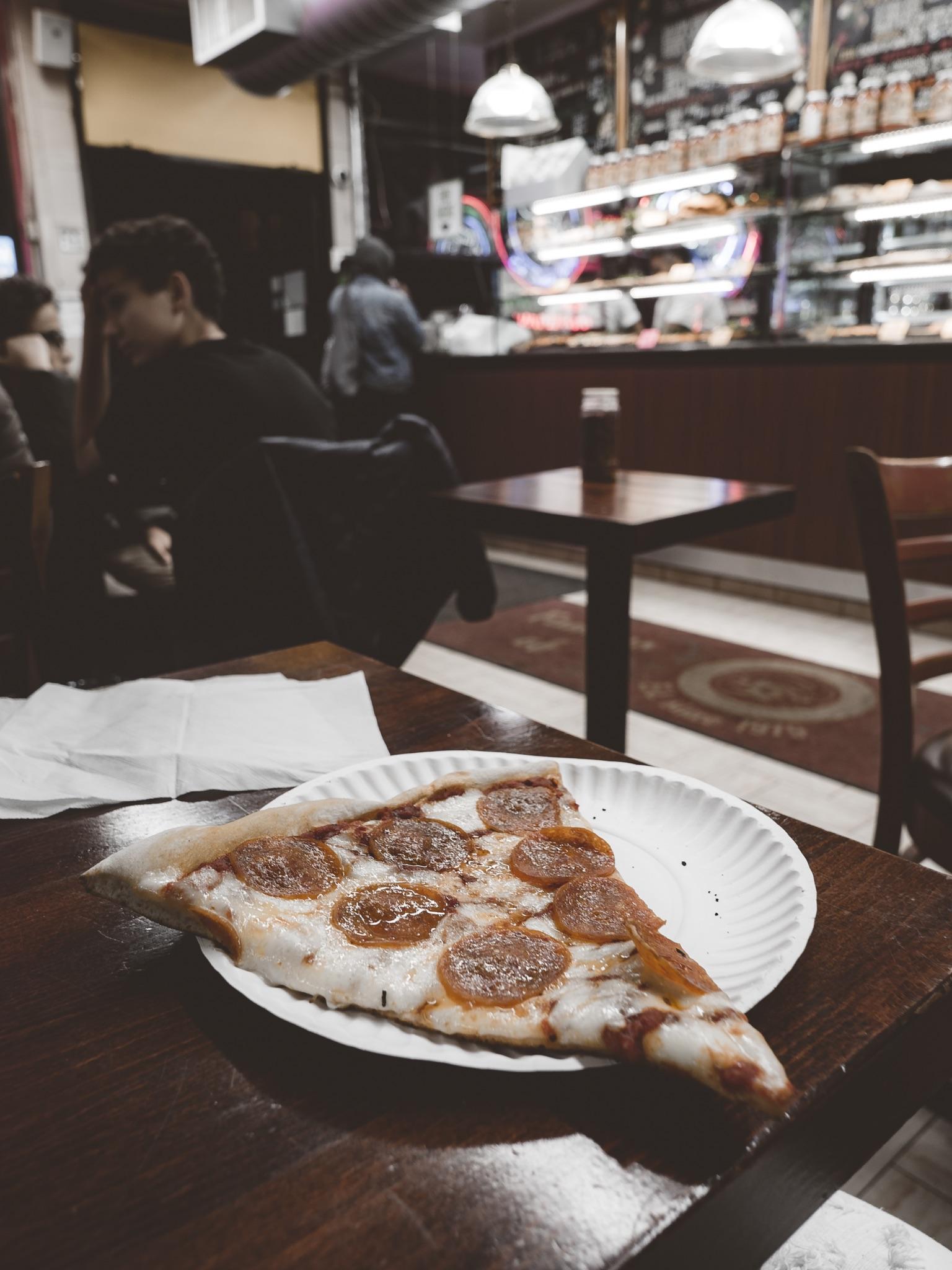 New York Pizza Slice