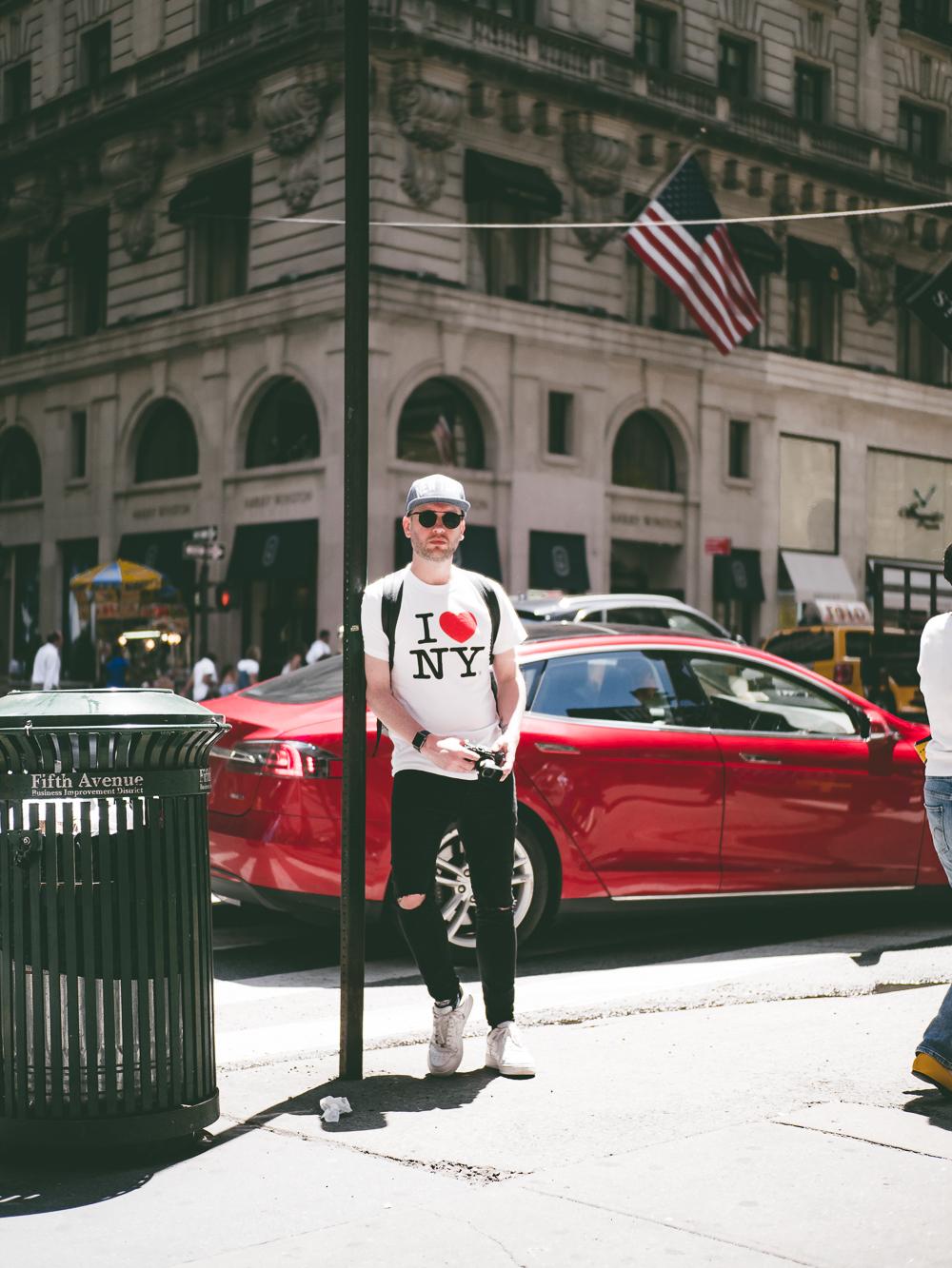 Jay McLaughlin NYC New York City 5th Avenue Olympus PEN-F