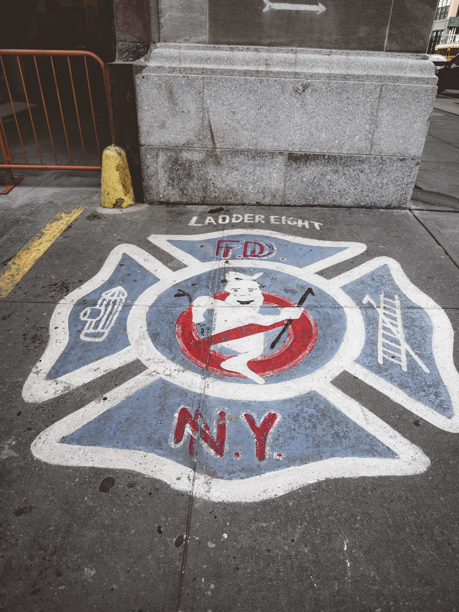 Hook & Ladder 8 Ghostbusters Firestation NYC New York City