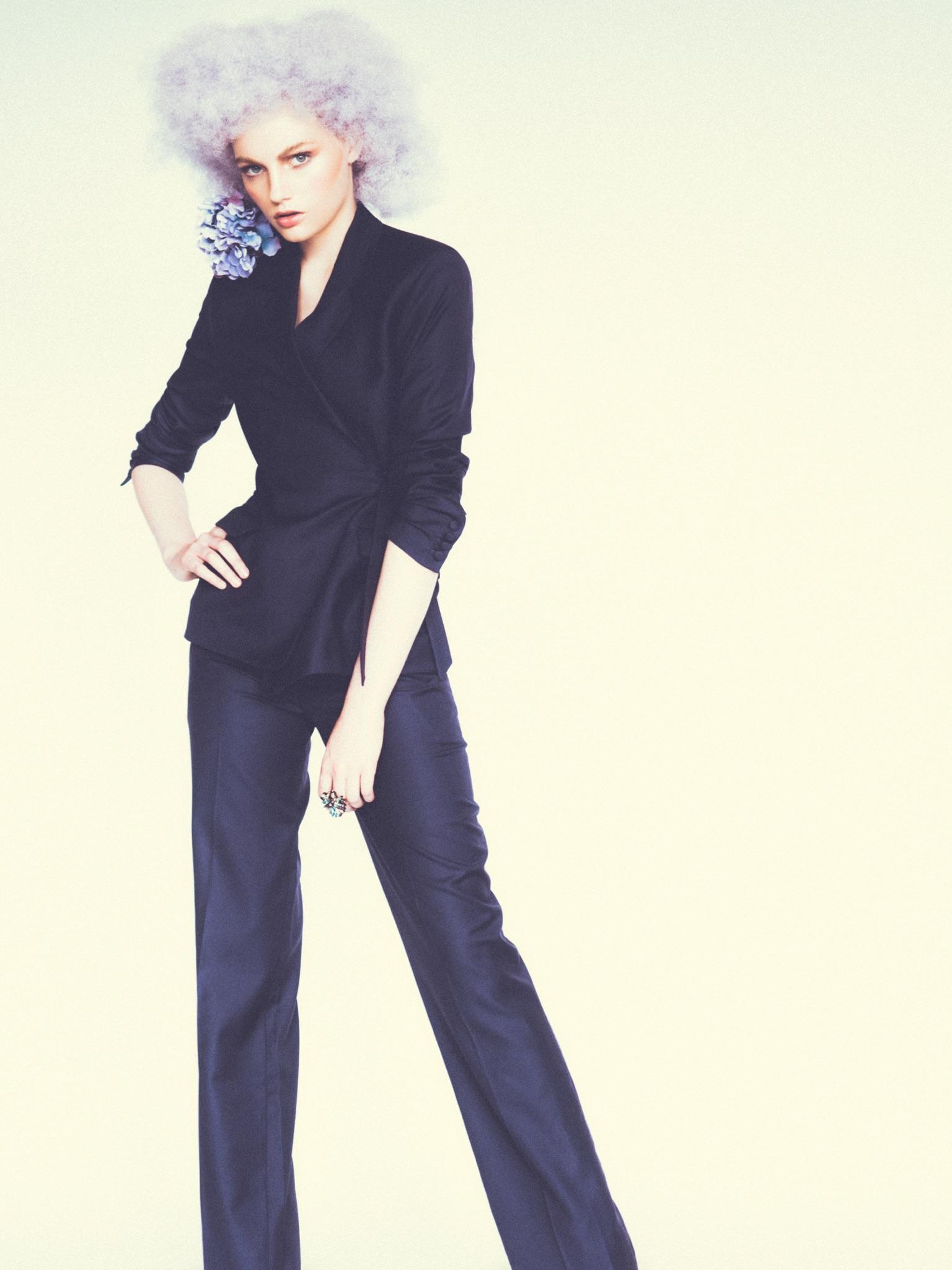 Fran Summers Francesca Summers Storm Model Management Jay McLaughlin