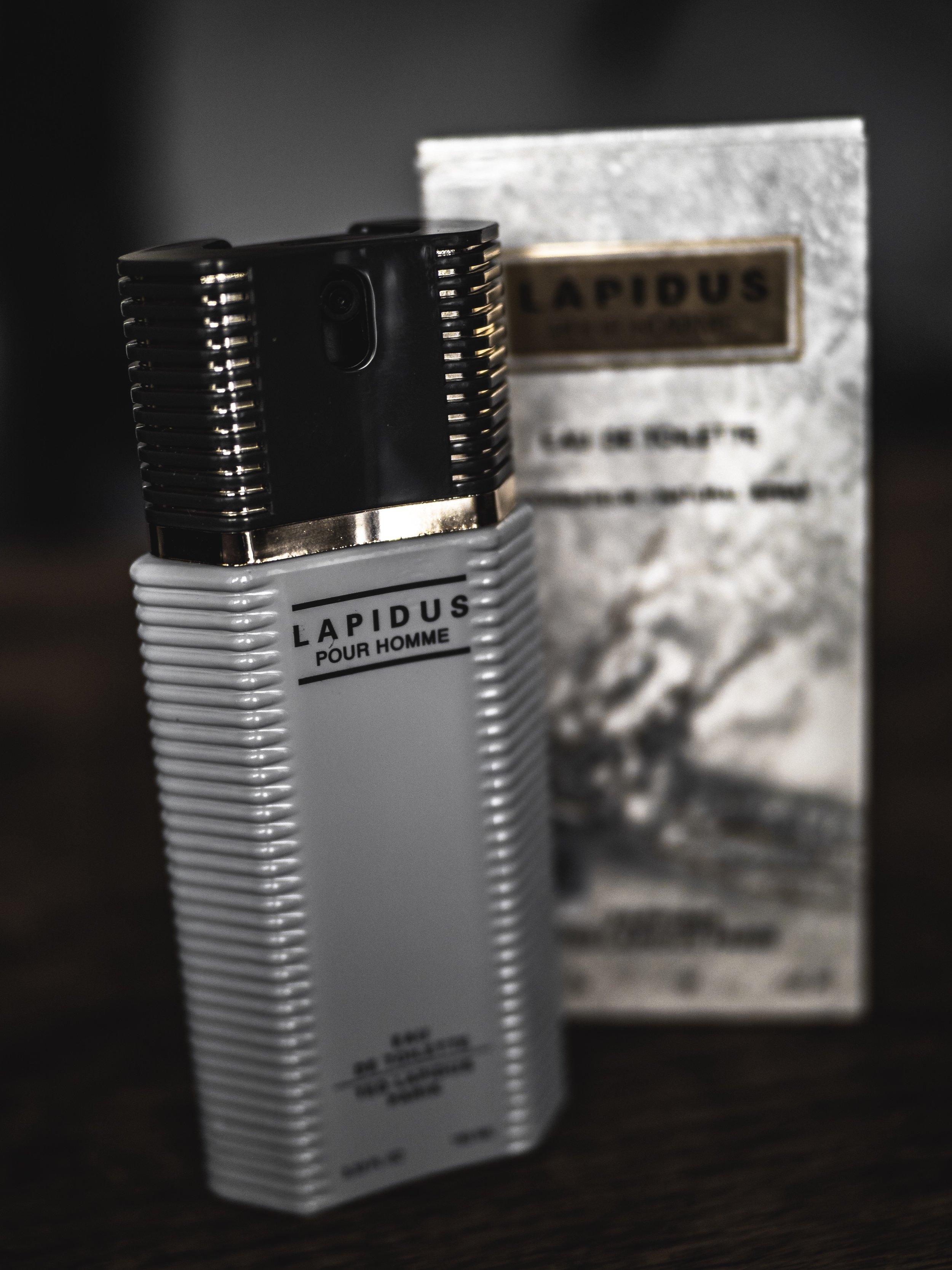Lapidus Pour Homme Review 1987 Classic Retro Fragrance Scent