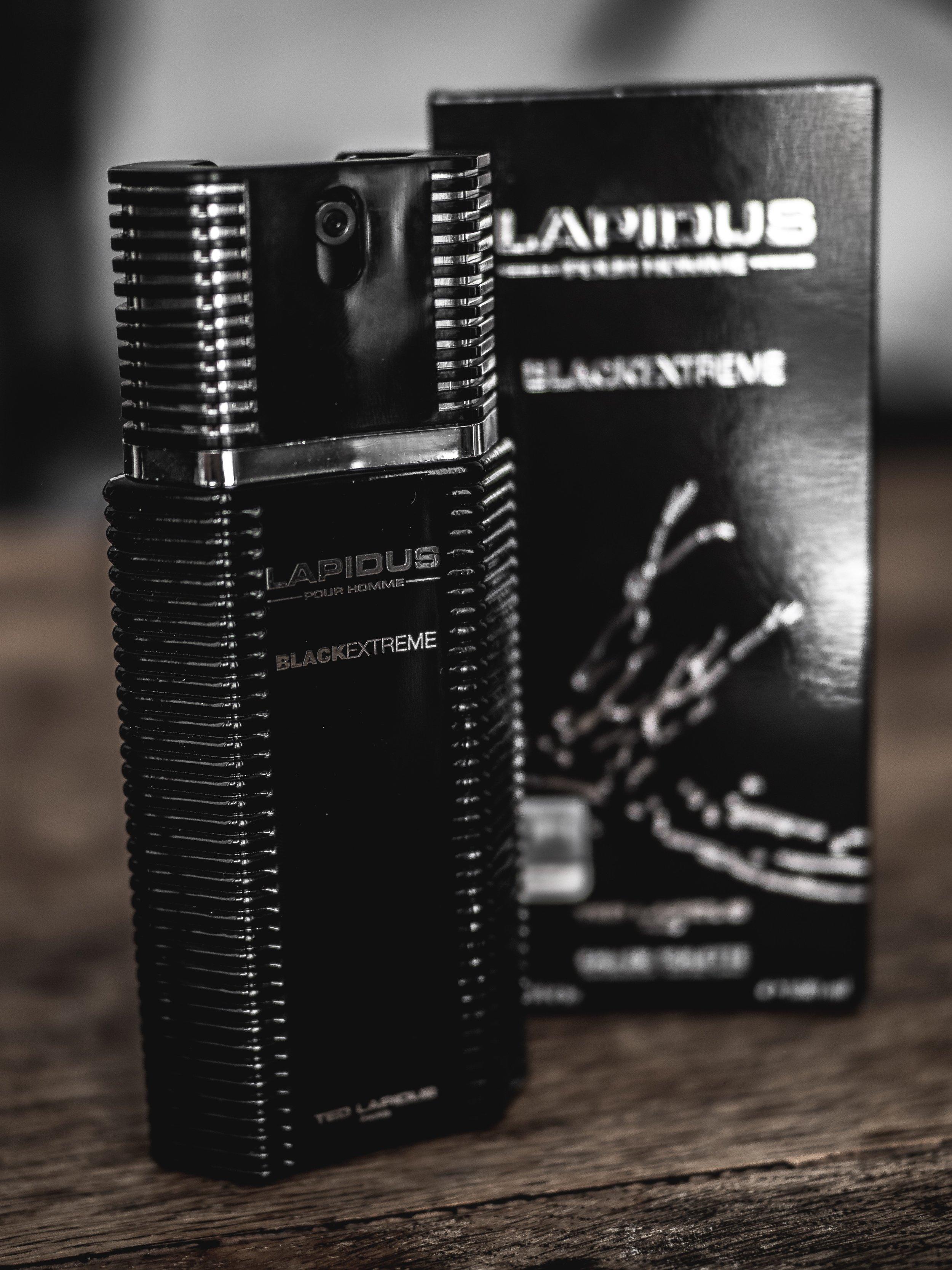 Lapidus Pour Homme Black Extreme 2012 Fragrance Review