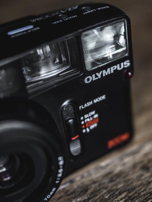 Olympus AZ-1 Zoom 35mm Vintage Film Camera Review