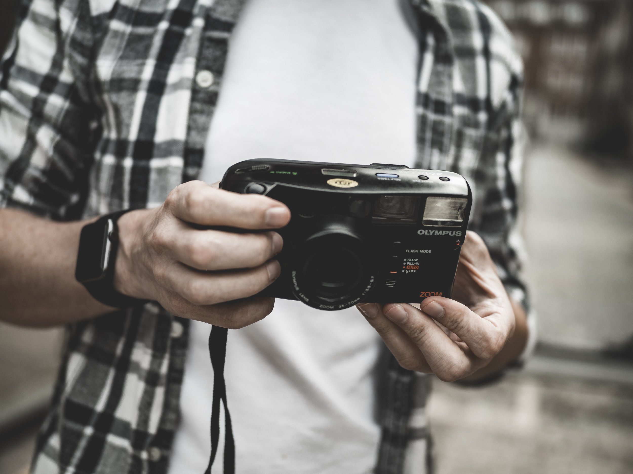 Olympus AZ-1 Zoom 35mm Vintage Film Camera Review Jay McLaughlin