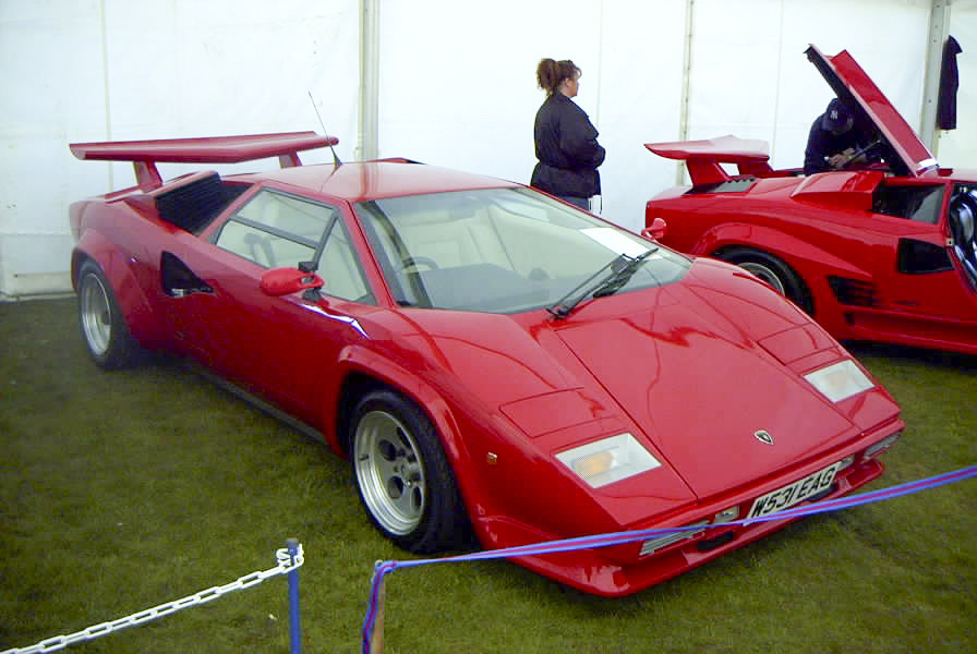 Toshiba PDR-M60 Review 2000 Jay McLaughlin Red Lamborghini Countach