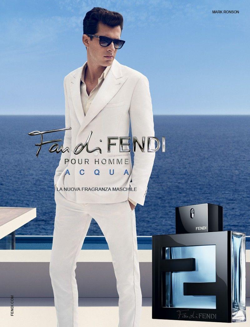 Fan Di Fendi Acqua Pour Homme Fragrance Review Mark Ronson