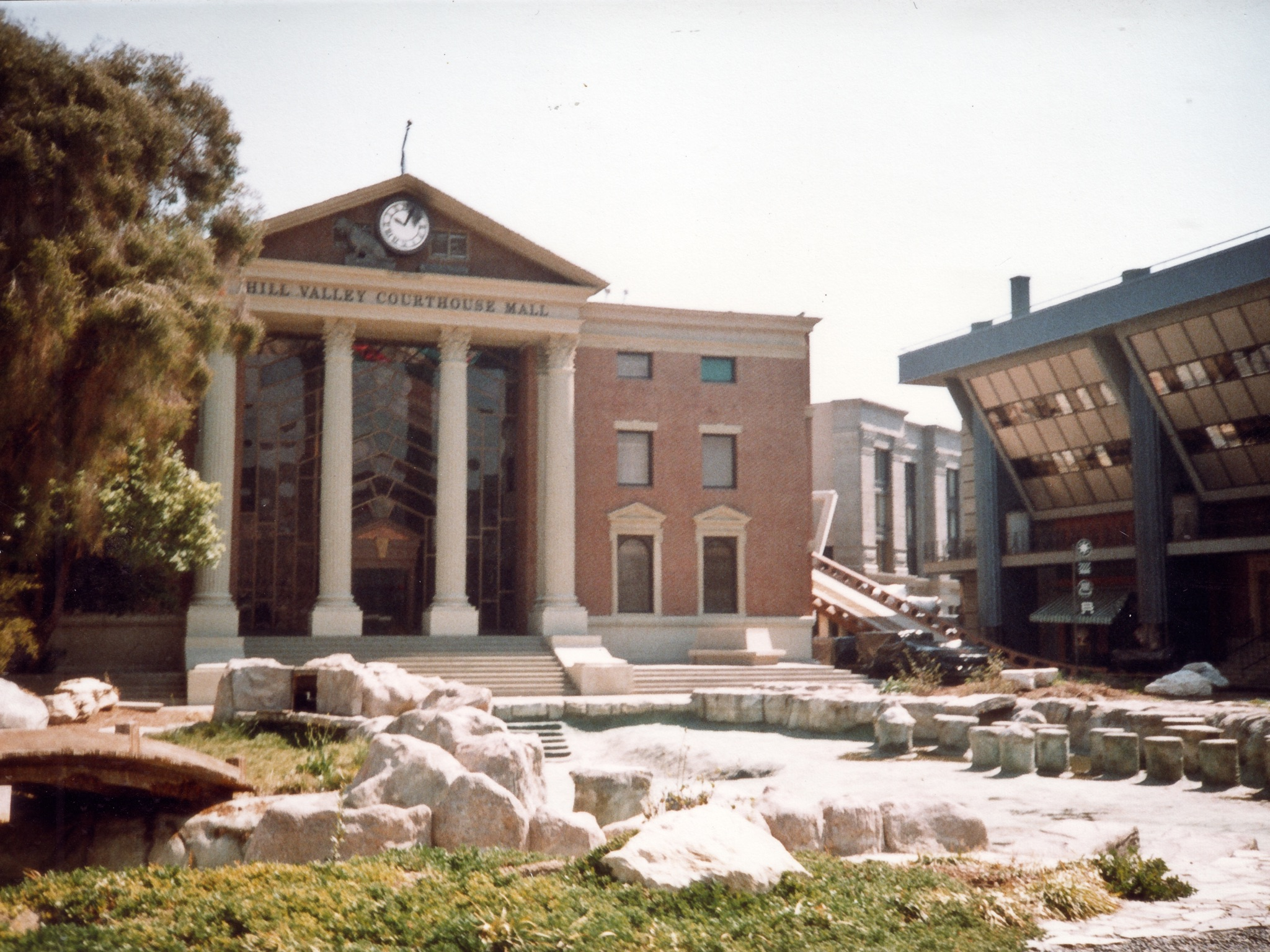 Back to the Future Universal Studios 1989 Set Backlot Tour Hill Valley Courthouse Jay McLaughlin Nostalgia Childhood