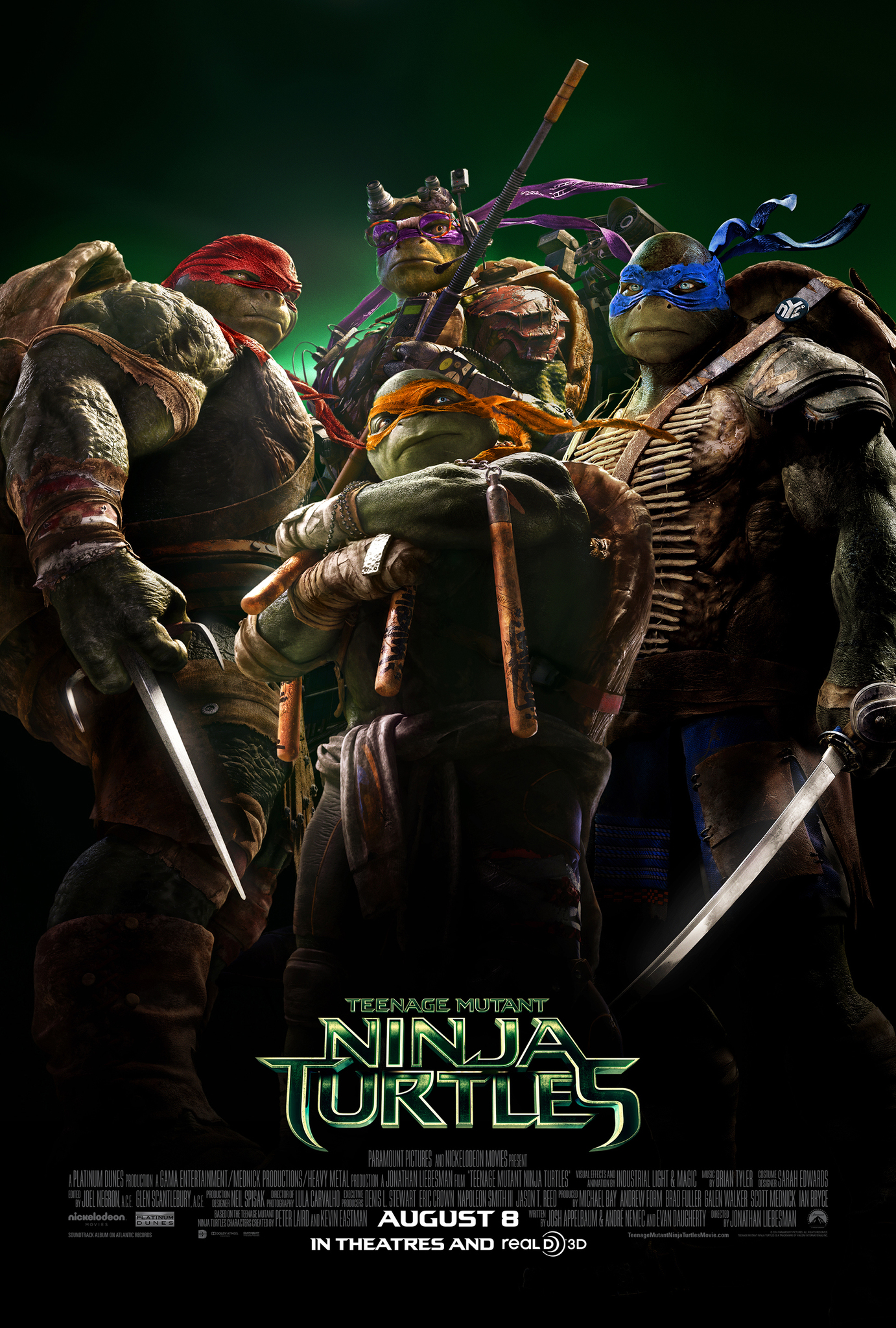 Teenage Mutant Ninja Turtles 2014 Movie Review TMNT