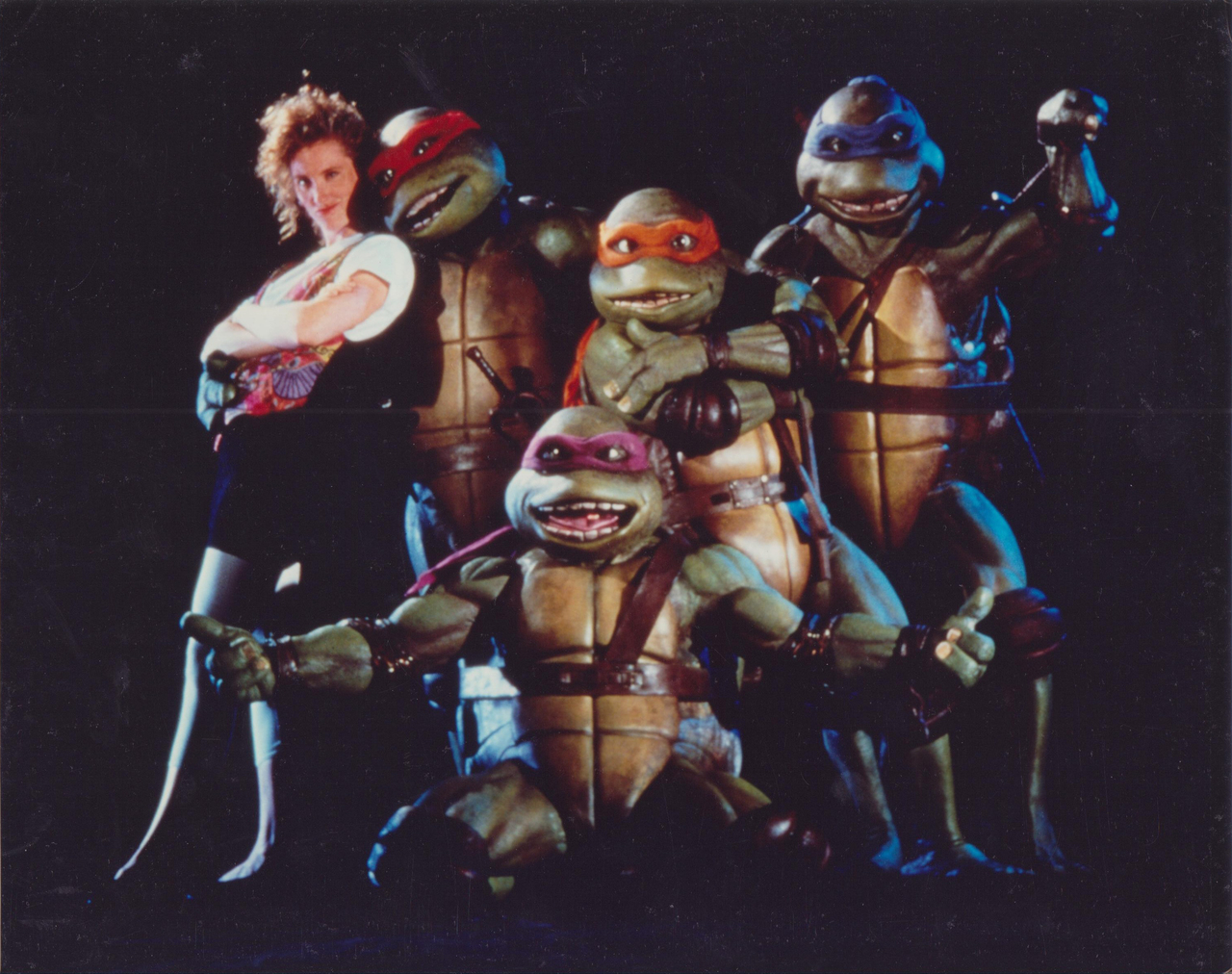 Teenage Mutant Ninja Turtles 2014 Movie Review TMNT Original Movie 1990 April O'Neil