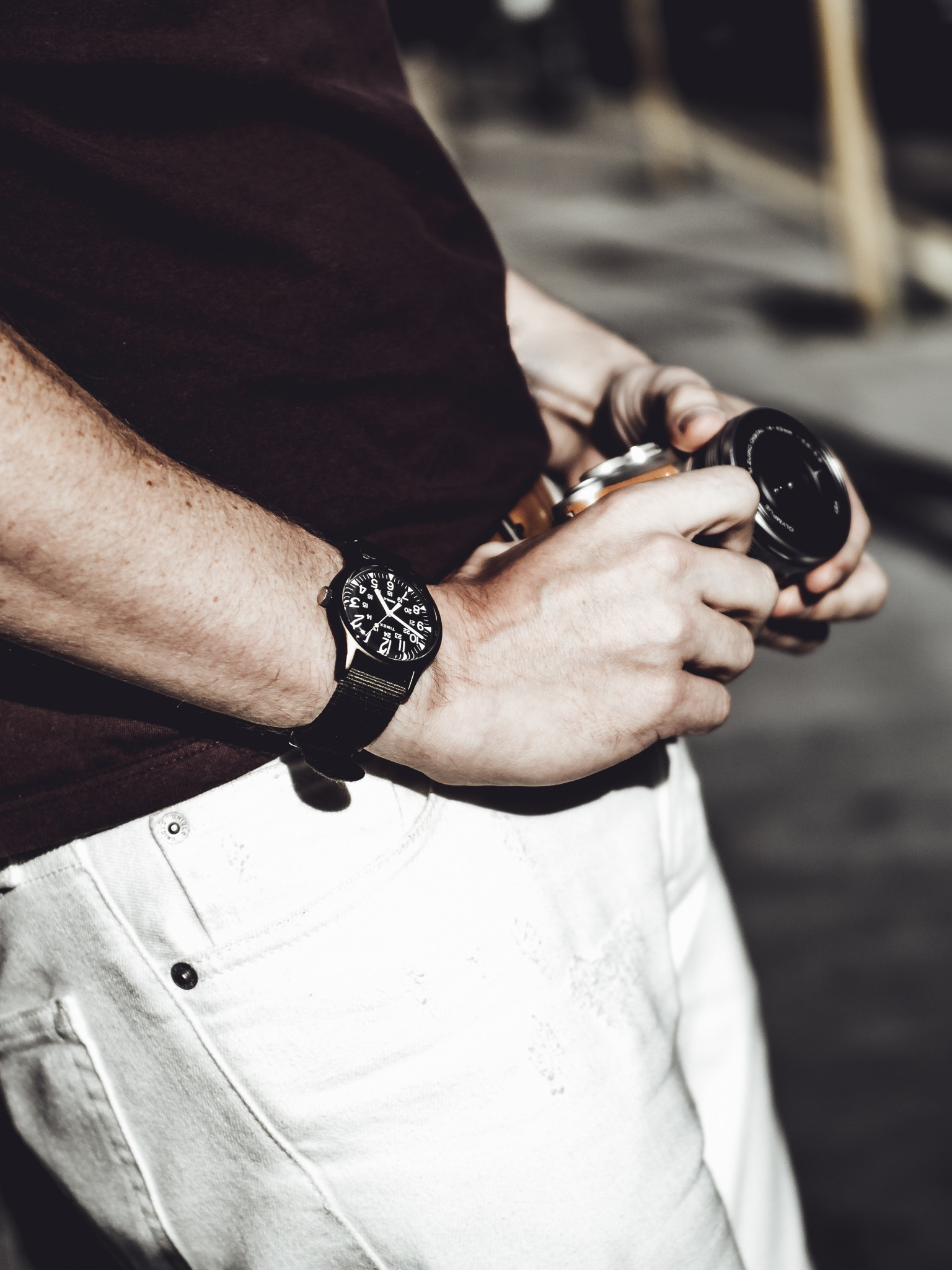 Why I'm Choosing to Wear My Apple Watch Less Smart Watch Wearable Tech Fashion Style Timex Olympus PEN E-PL8