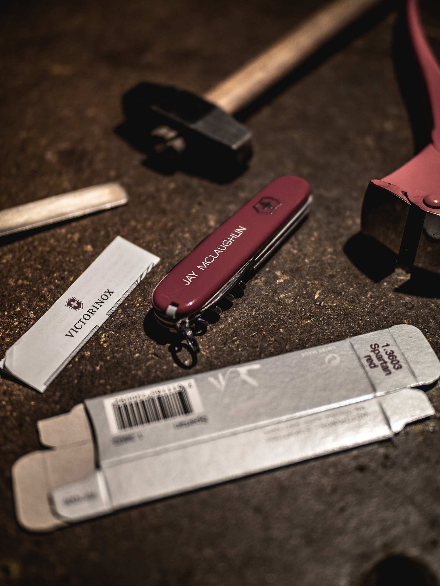 Victorinox Spartan Swiss Army Knife Officer Personalised Customised Hand Made Experience Flagship Store New Bond Street Craftsmanship Heritage History