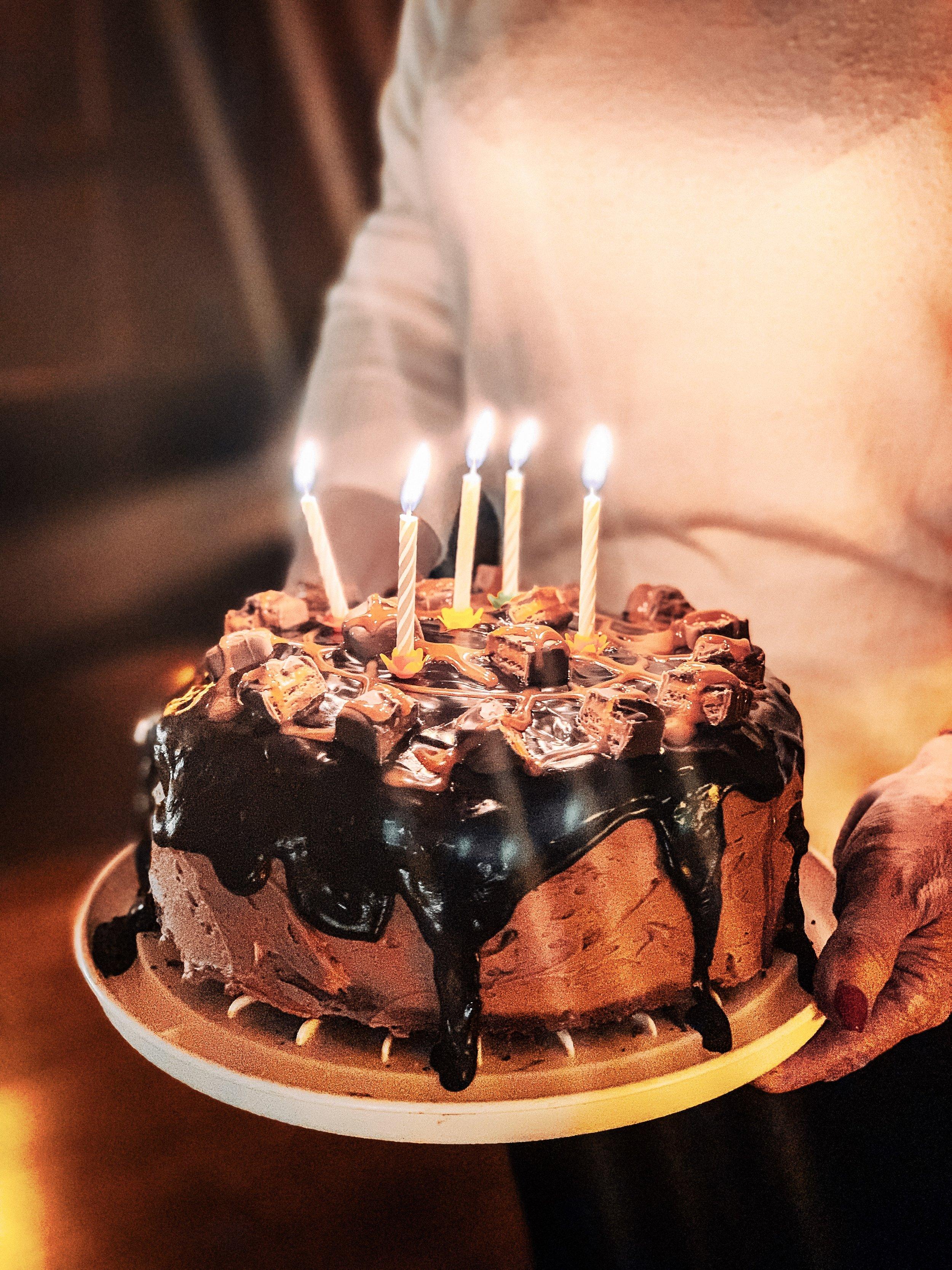 Christmas Carnivore Diet Break Carbohydrate binge Mars Bar Birthday Cake
