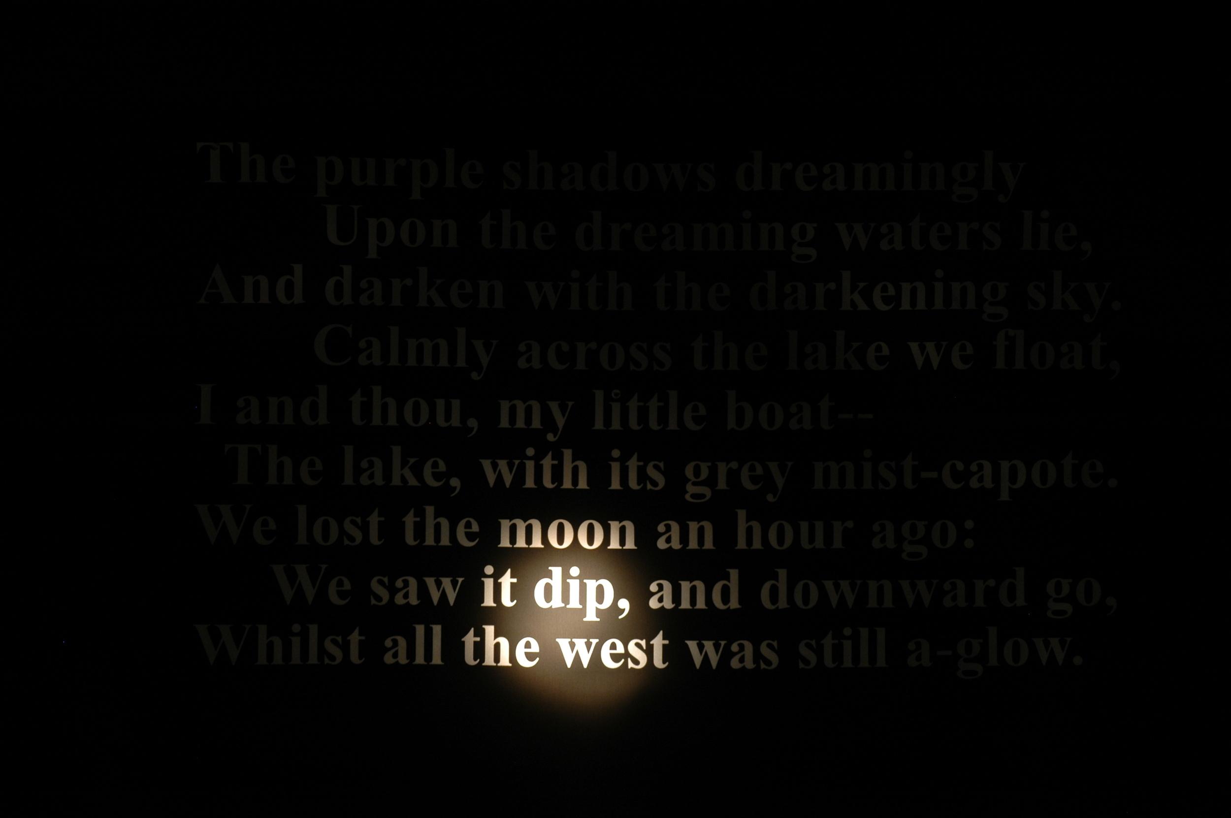 Light Poetry Prototype