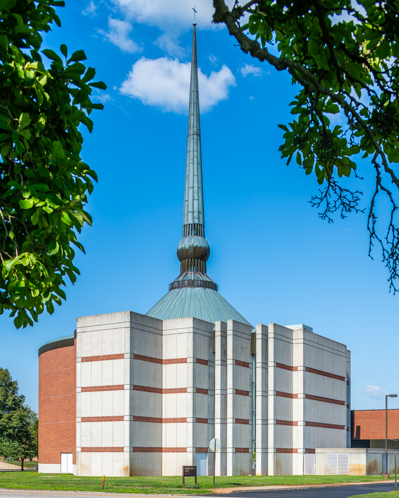 St. Peter's Lutheran Church, Gunnar Birkerts, 1988