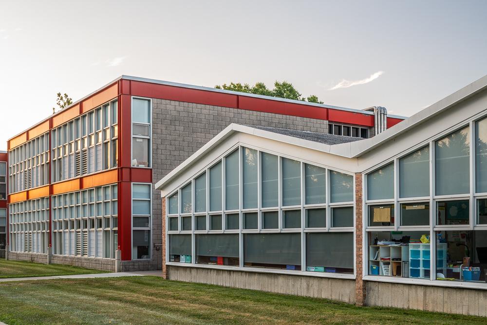 Lillian C. Schmitt Elementary, Harry Weese, 1957