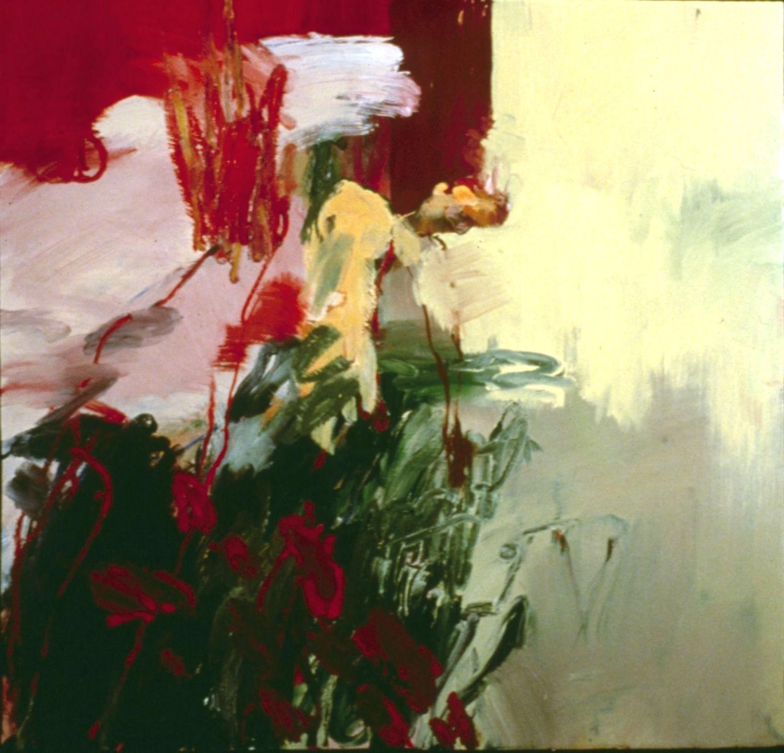 Figure in a meadow