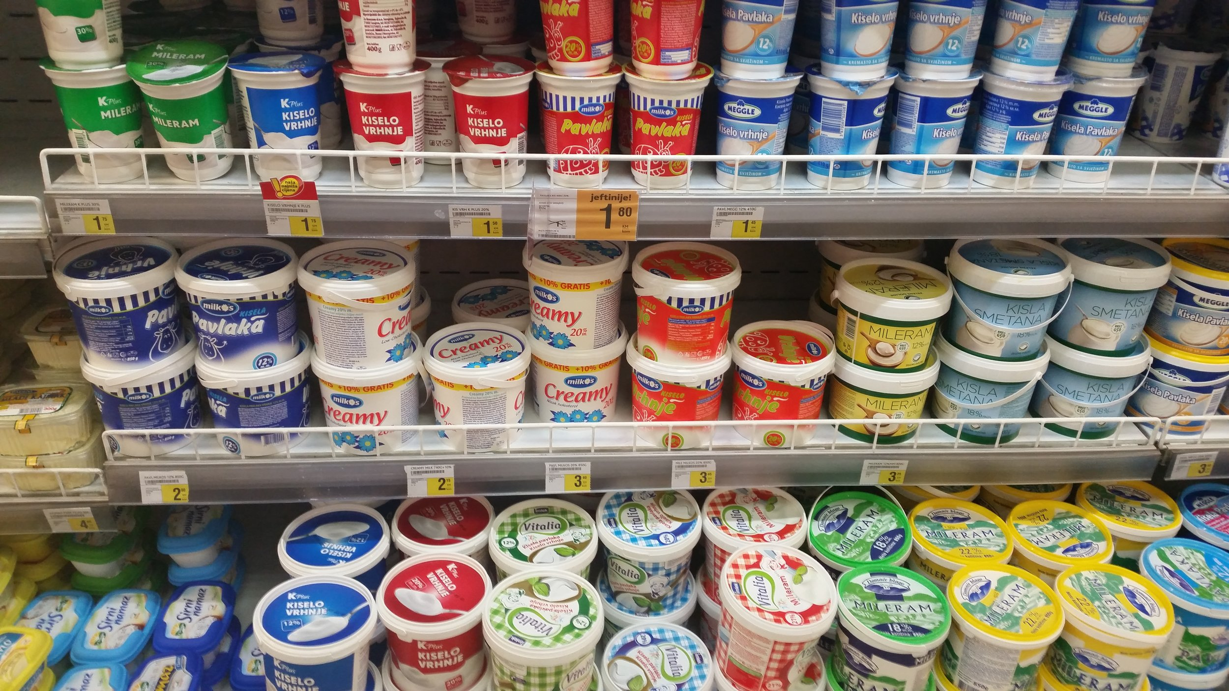 Rømme? Yoghurt? Smør? Kesam? Hvem vet.