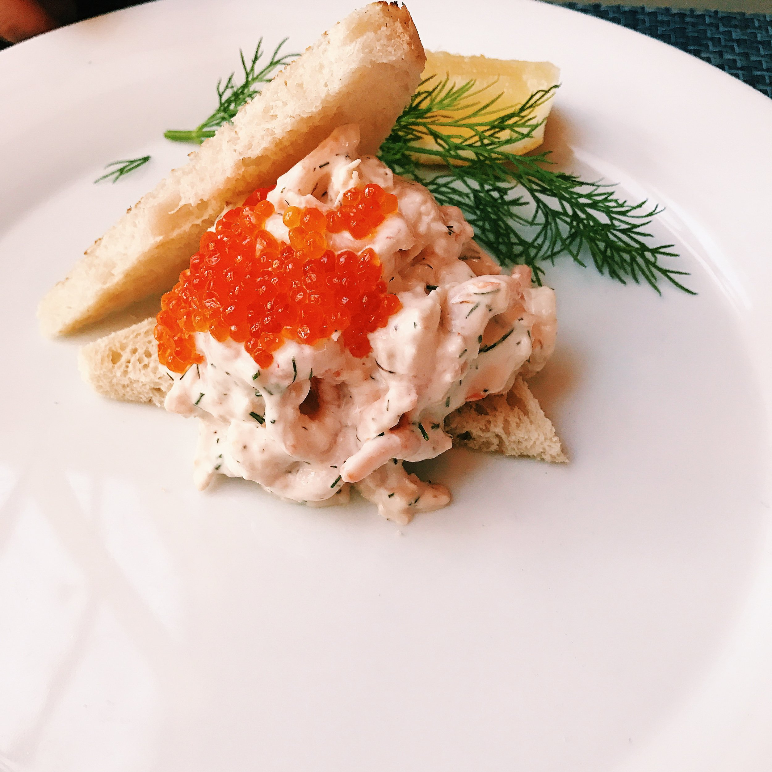 Toast Skagen from Lisa Elmqvist