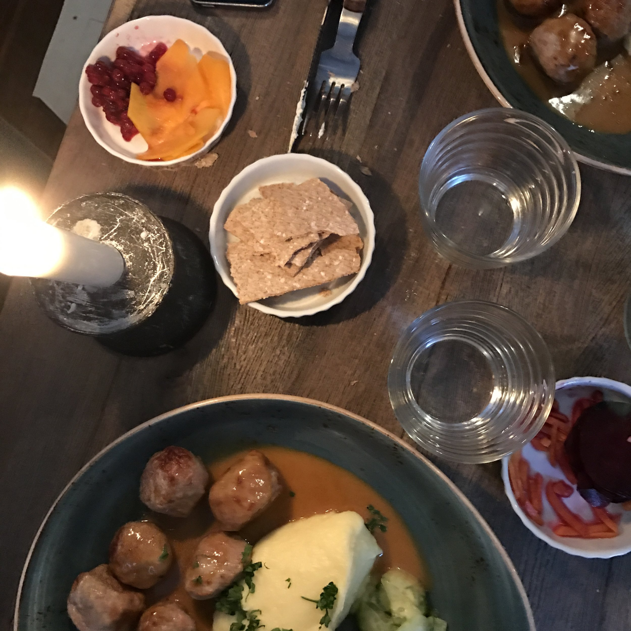 Classic Swedish Meatballs at Meatball for the People