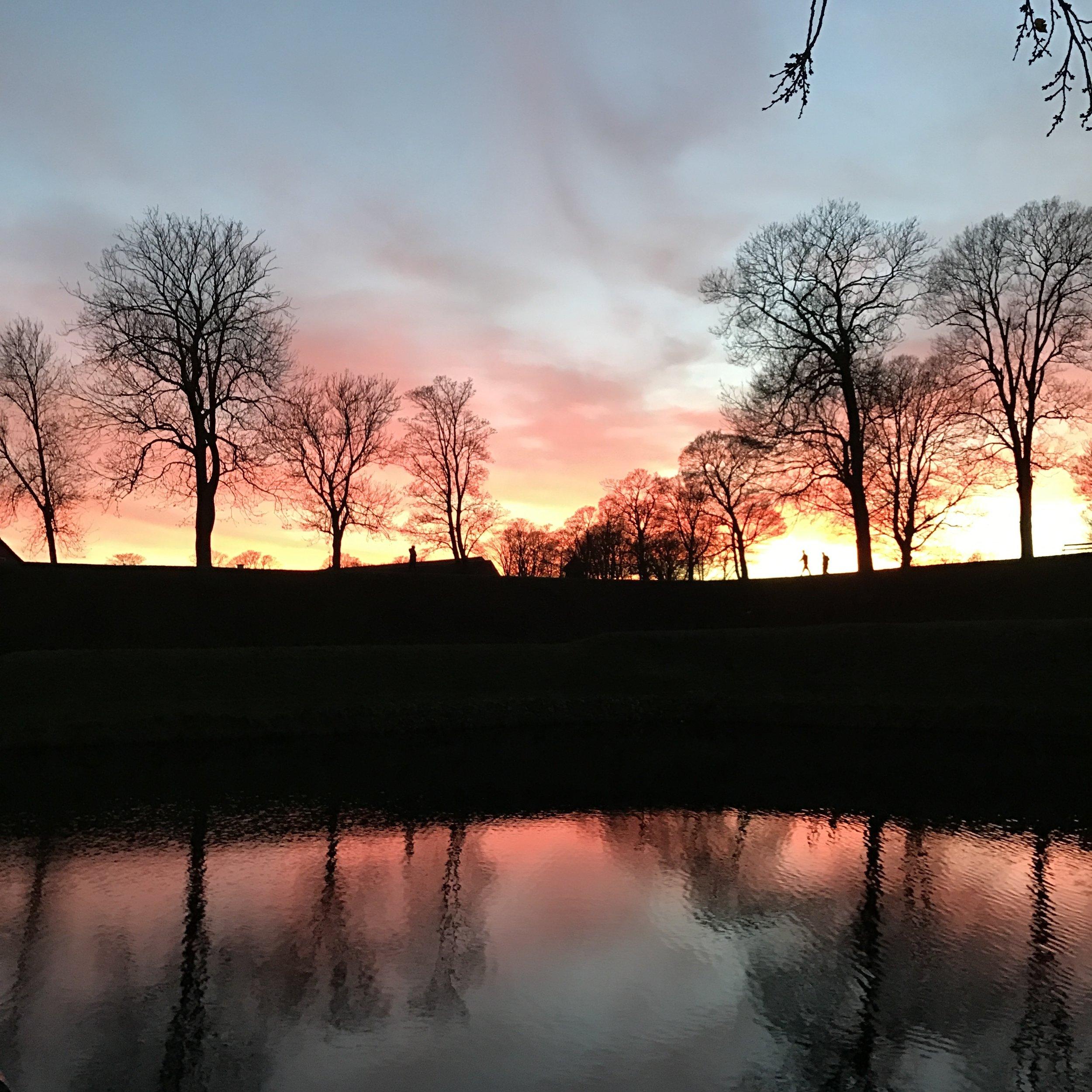 Sunset at Kastellet