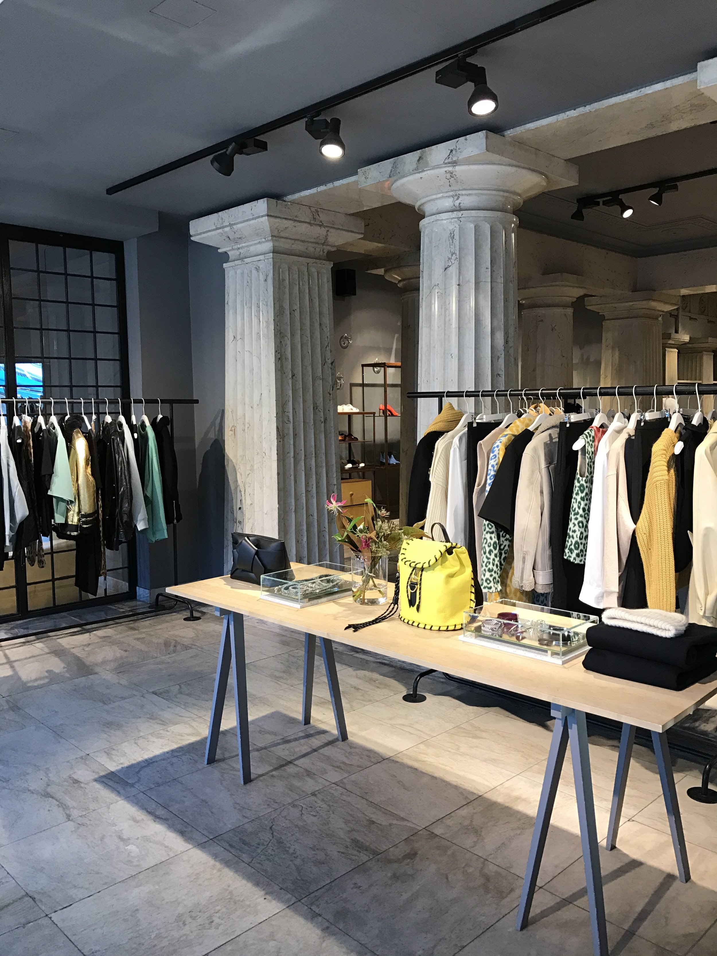Acne Studios boutique in Norrmalm