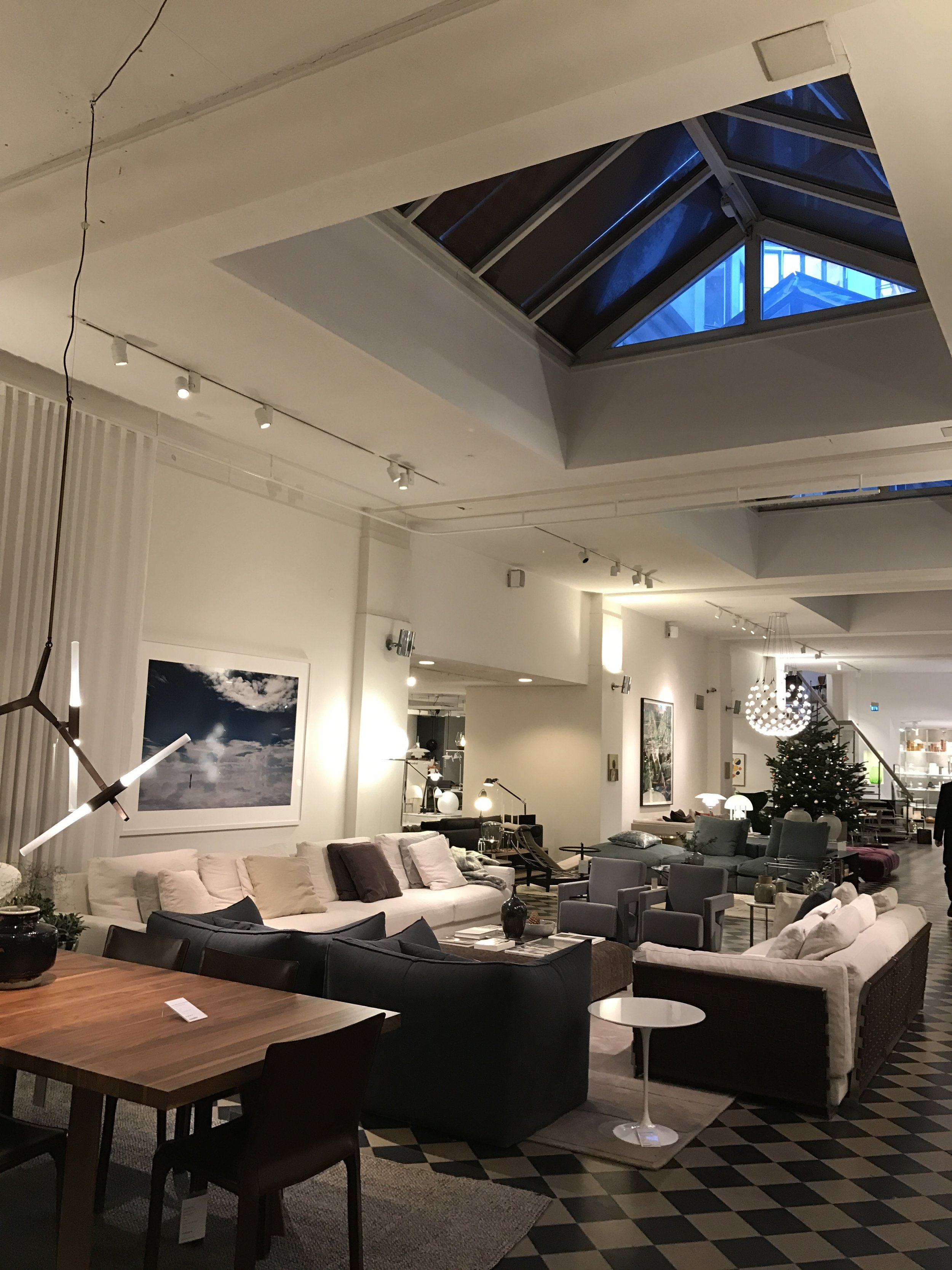 Amazing home interior boutique in Ostermalm