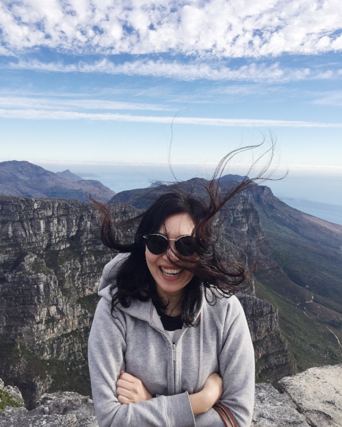 Very windy at the top of Table Mountain - dress appropriately.