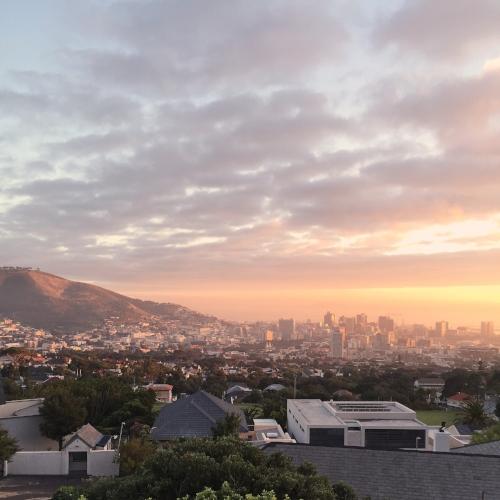 Sunrise in Cape Town