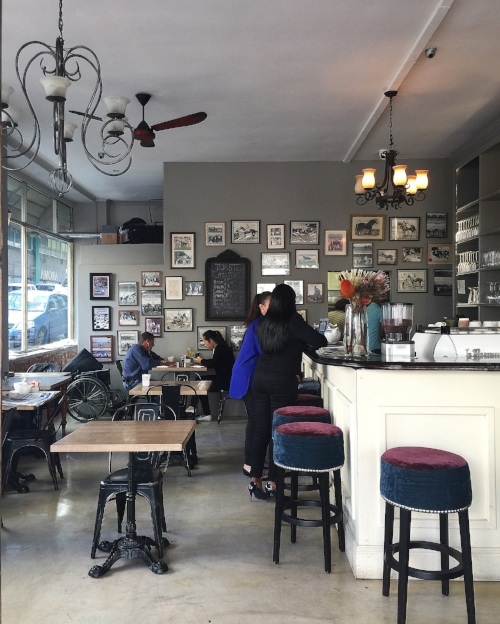 Aroma Cafe in downtown Cape Town