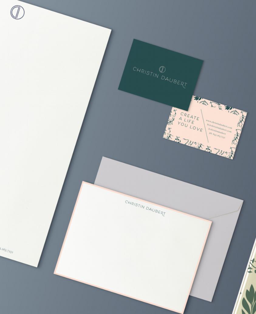 Christin Daubert - branding, Print + web