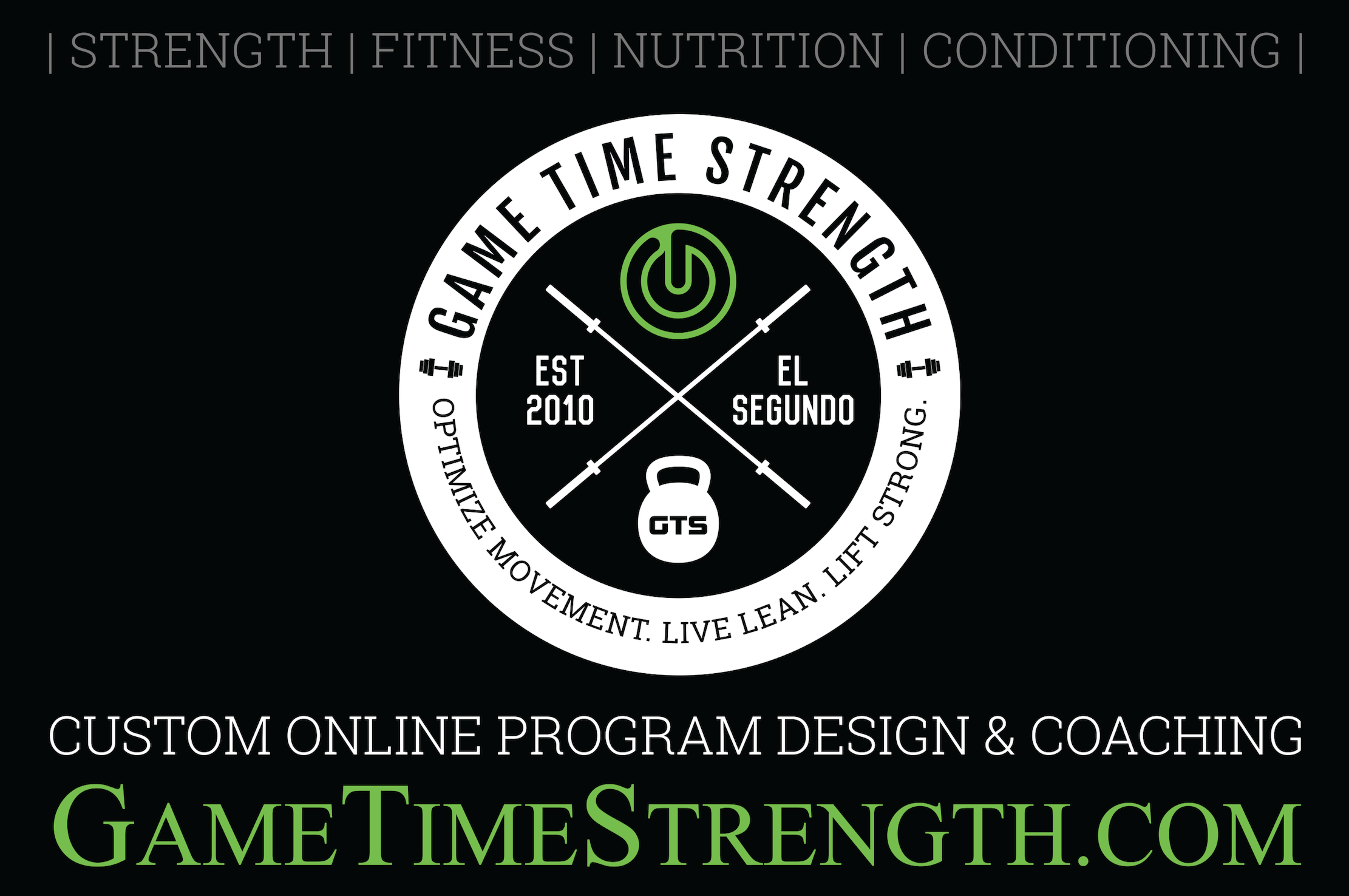 GTS Custom Online Program Design & Coaching