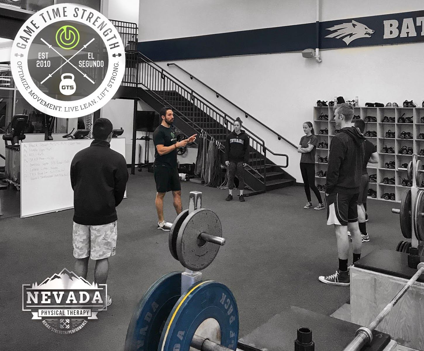 Group - GTS Game Time Strength - Barbell Strength Workshop - Physical Therapy - Reno Nevada - Rehab Strength Performance Los Angeles Coach.JPG