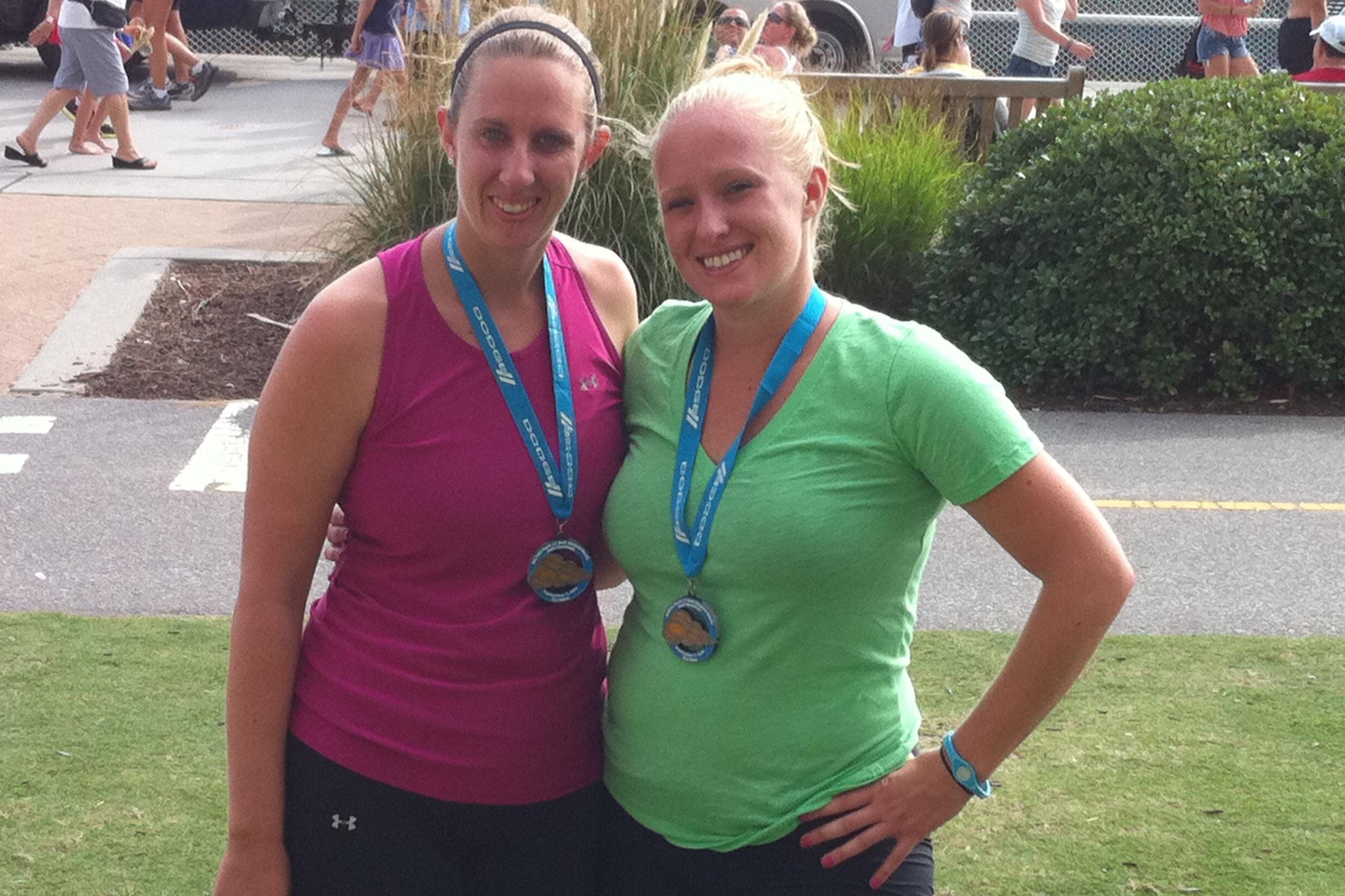 BEFORE - an aspiring runner…