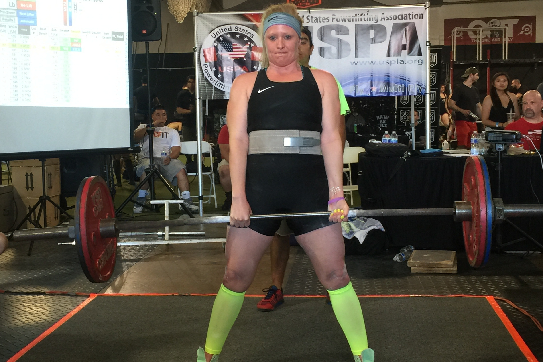 2015 CA State Championships.  259 lb deadlift, 606 lb total