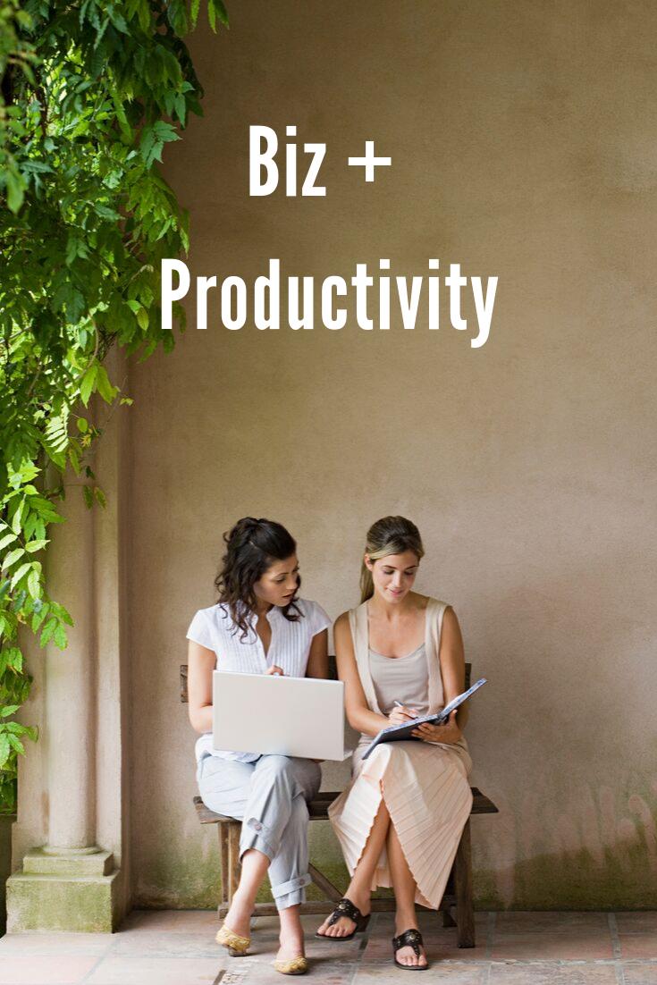 Biz + Productivity Tips