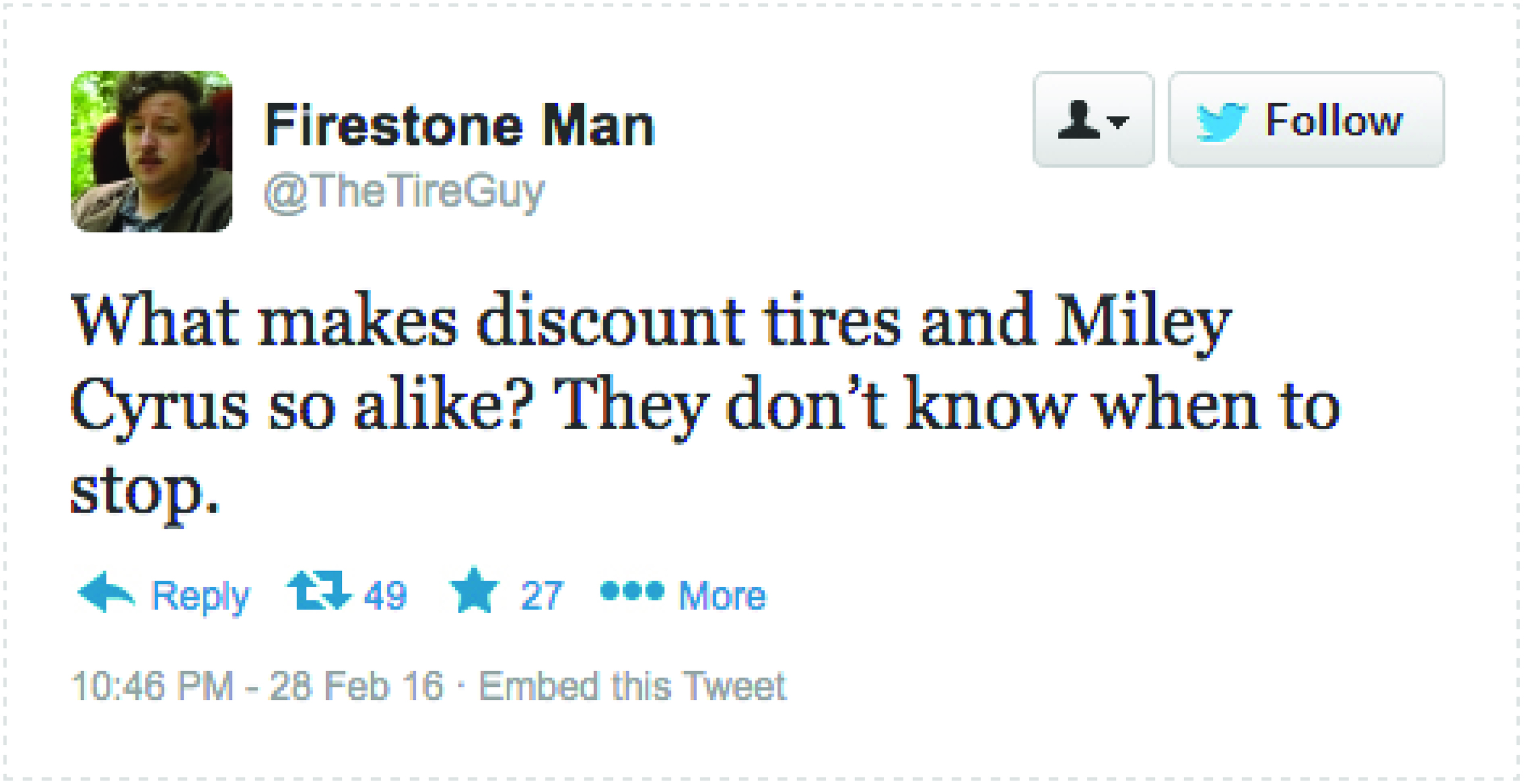 Firestone Tweet Miley.jpg