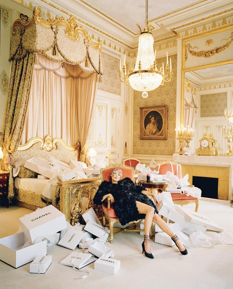Kate Moss, shot by Tim Walker for Vogue, 2012.