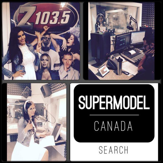 SuperModel Canada Search team at   Z103.5  promoting the Launch Party along side   NRG  Lifestyle!!!    Stay tuned for more details coming up