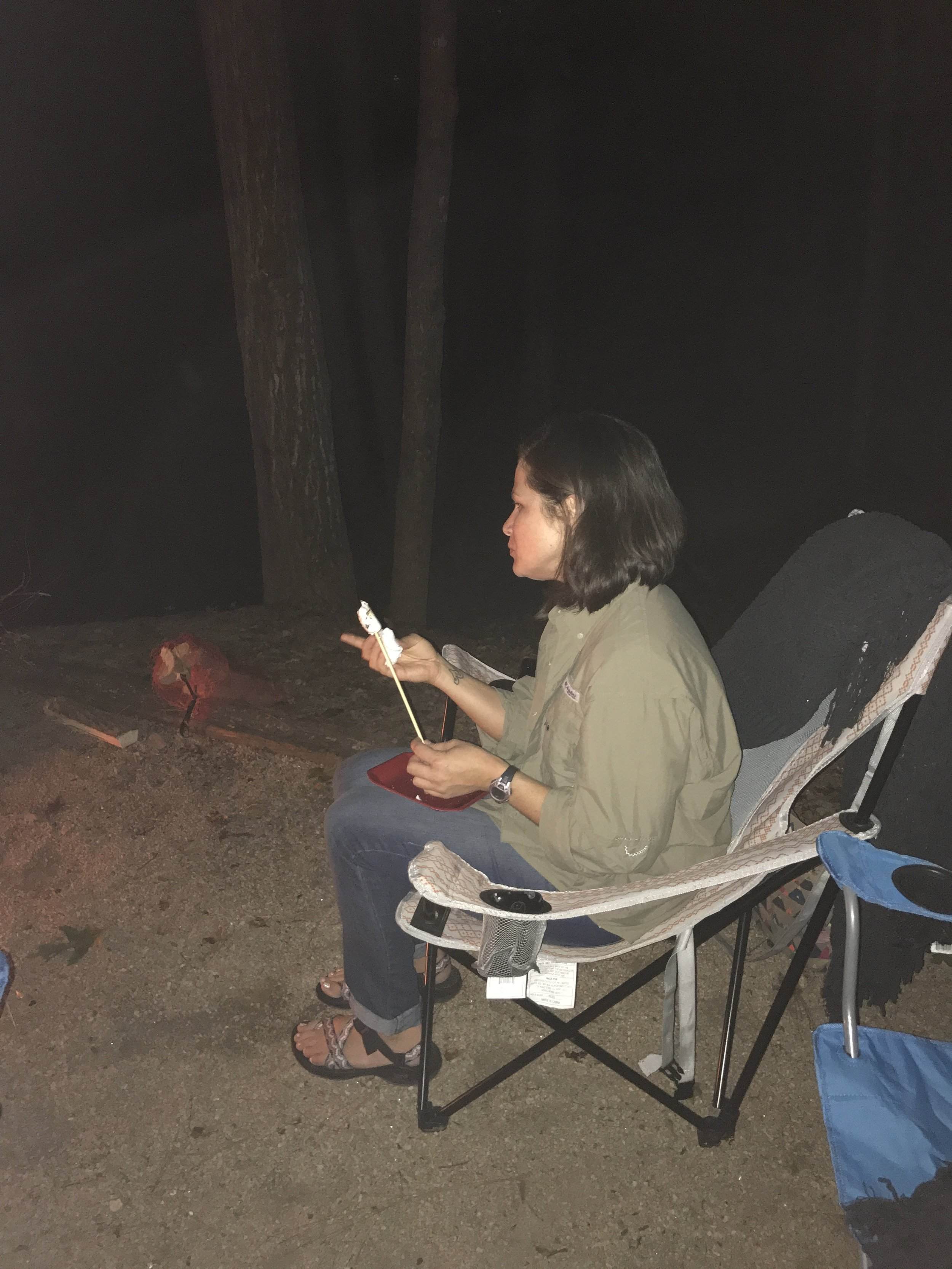 Camping and S'mores
