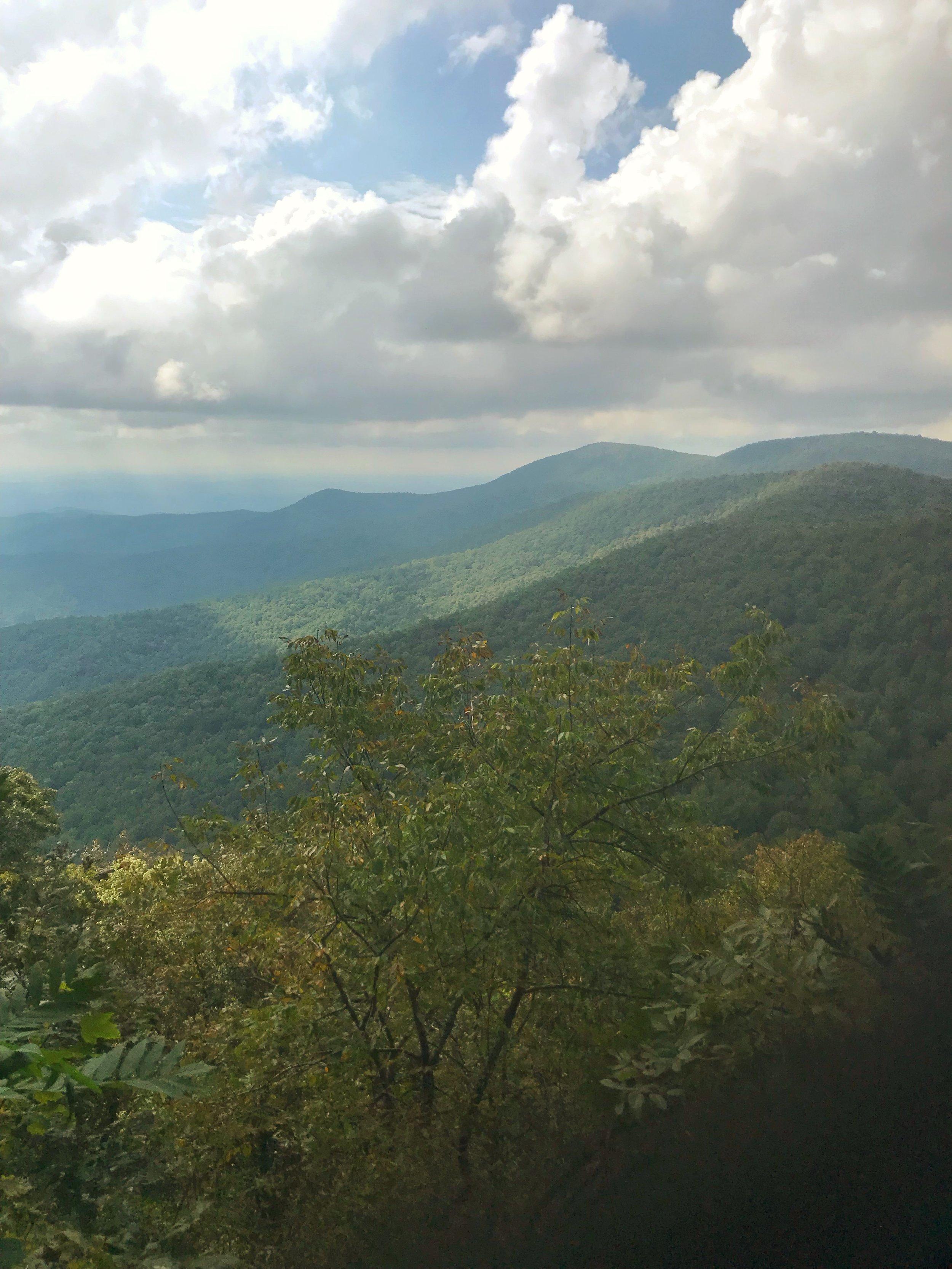 Woody Gap Appalachian Trail Georgia