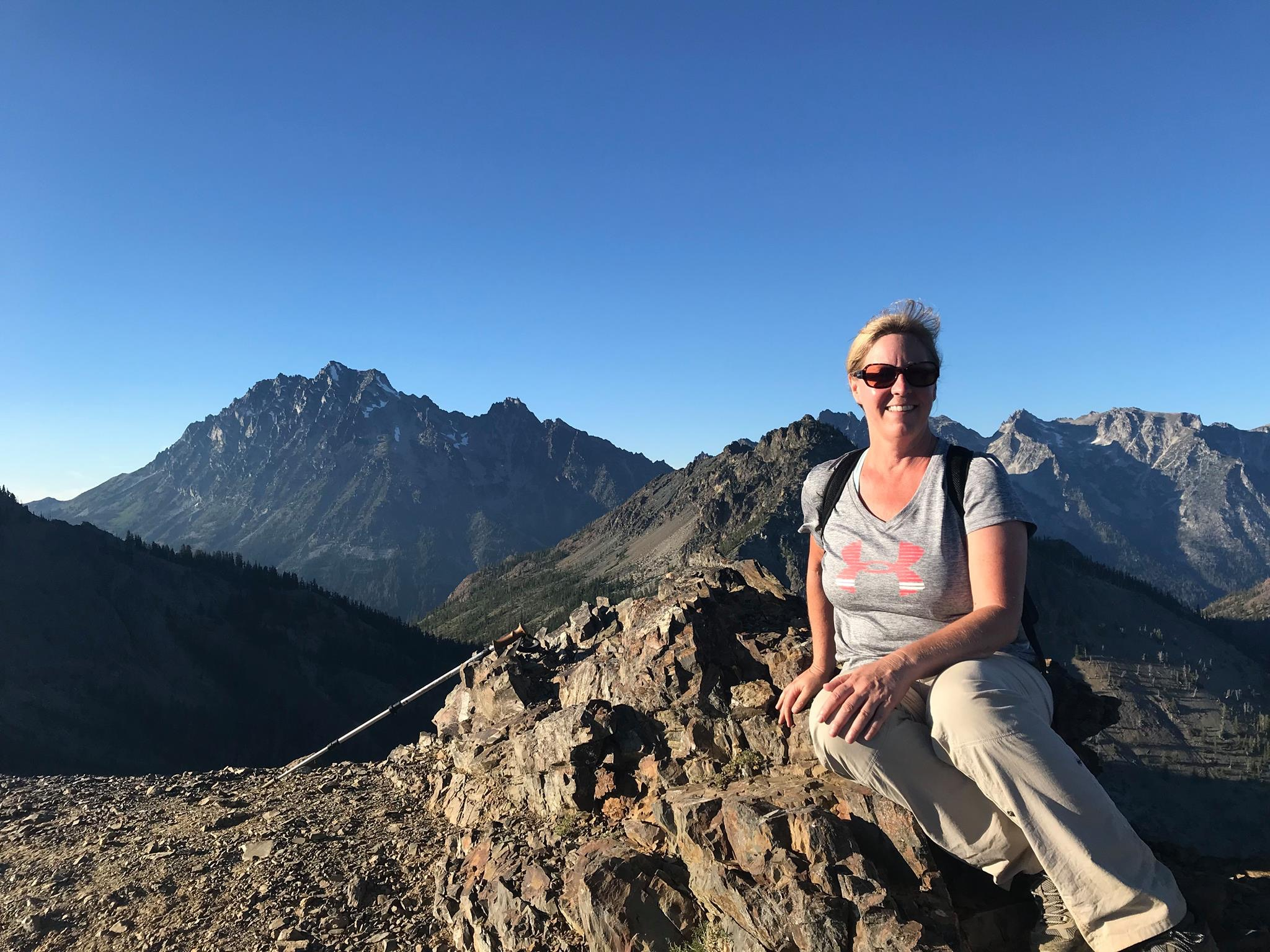 - WILDERNESS GUIDEKaren Leonard - Wilderness First Aid CertificationKaren loves the outdoors. Her passion and drive are contagious and an inspiration. We are excited to have her aboard for our Appalachian Trail adventures.