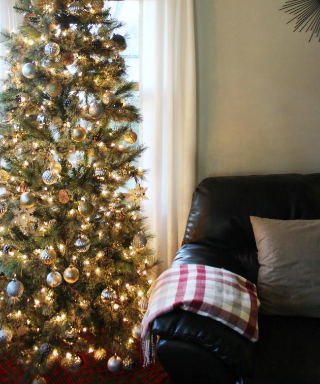 cozy & festive rustic style