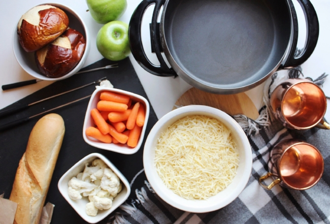 we had a hygge-style fondue night for New Year's Eve this year!