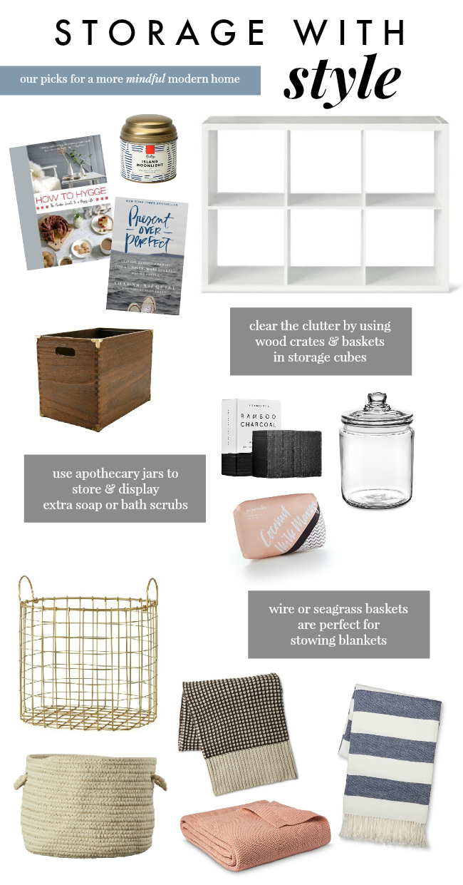 our favorite storage pieces for a more mindful, modern home