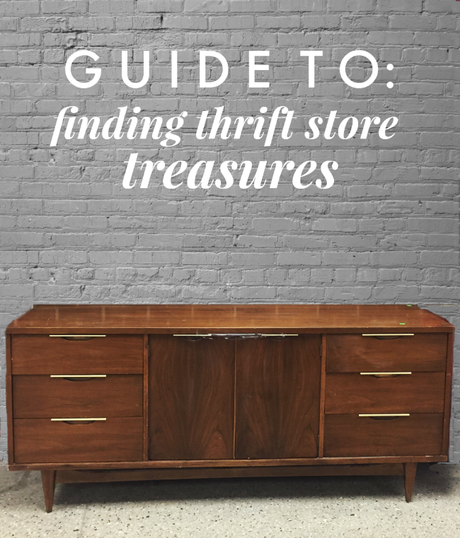 Guide to Finding Thrift Store Treasures | La Petite Farmhouse