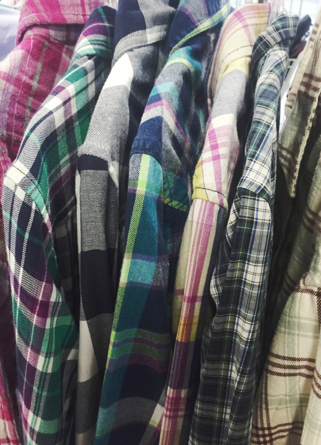 Plaid Flannel Shirts | Thrifting  Treasures